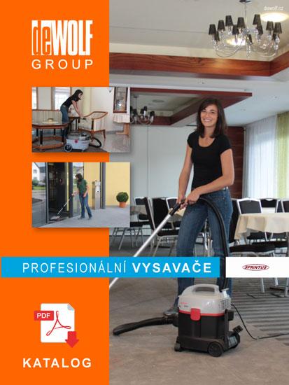 Katalog Sprintus - profesionální průmyslové vysavače | de Wolf GROUP
