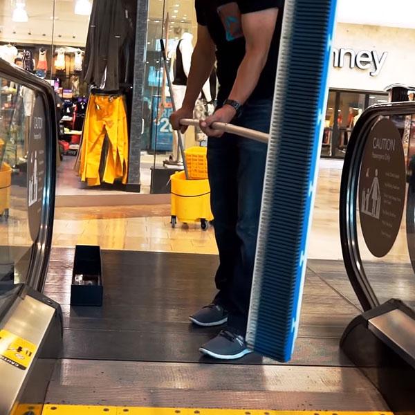 Čištění eskalátorů, travelátorů, pohyblivých schodů - REN