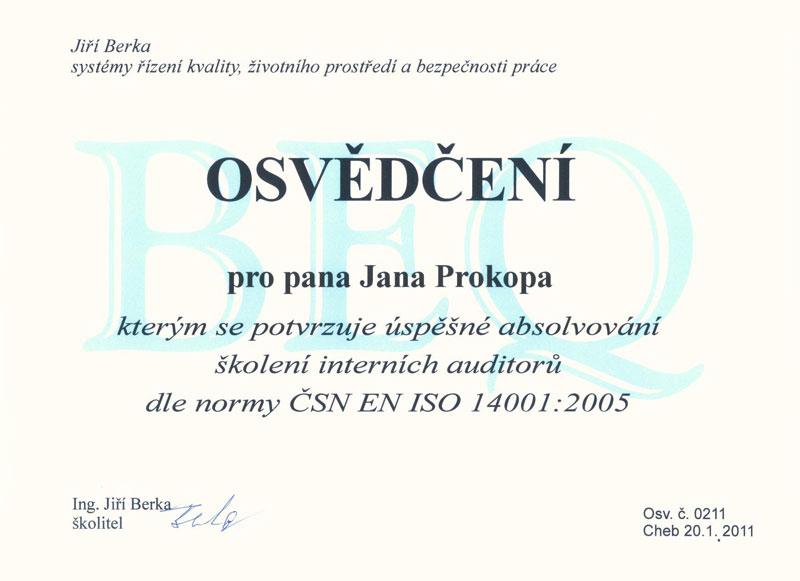 ČSN EN ISO 14001.2005