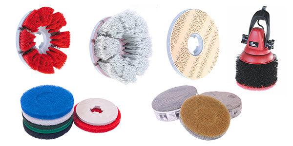 Příslušenství pro jednokotoučové mycí podlahové stroje MotorScrubber