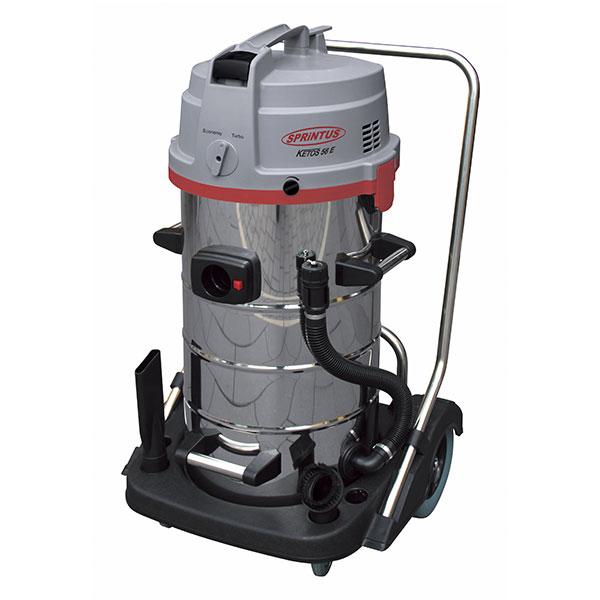KETOS N56/2 E - nerezový vysavač pro suché i mokré vysávání s extrémní silou
