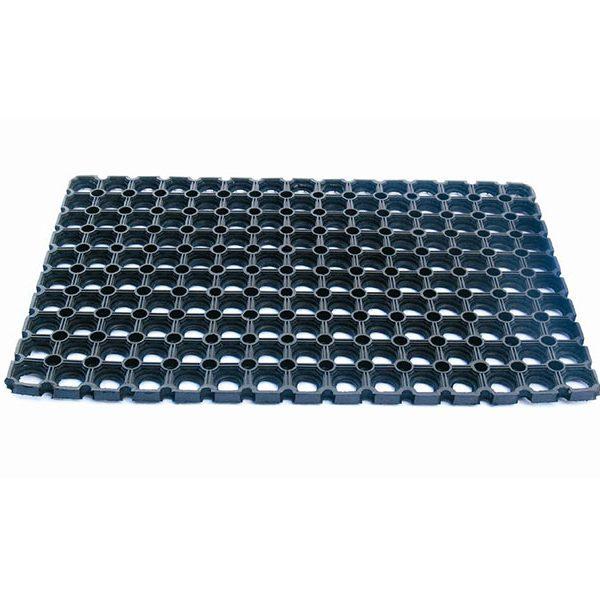 Honeycomb - gumová vchodová rohožka s drenážní úpravou (venkovní)
