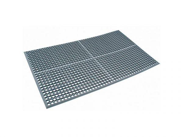 Safe Link Lite - průmyslová rohožka s náběhovou hranou a protiskluzovým povrchem (ergonomická)