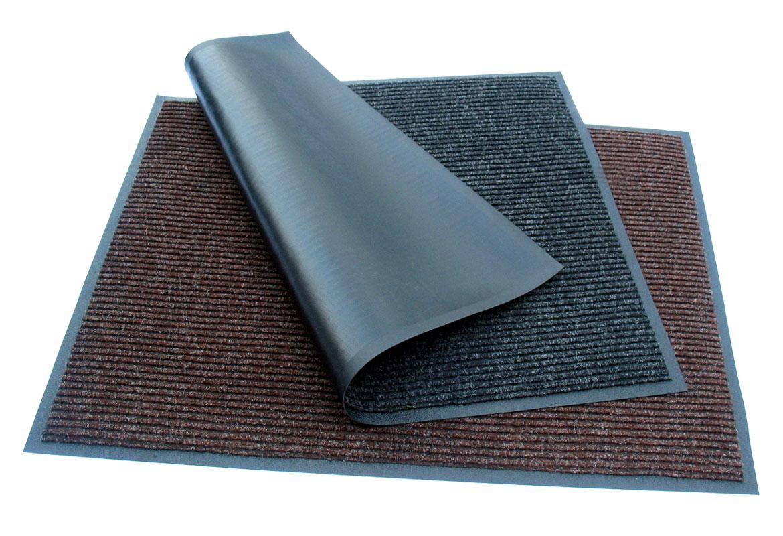Třetí čisticí zóna - dočištění a osušení (textilní rohož)
