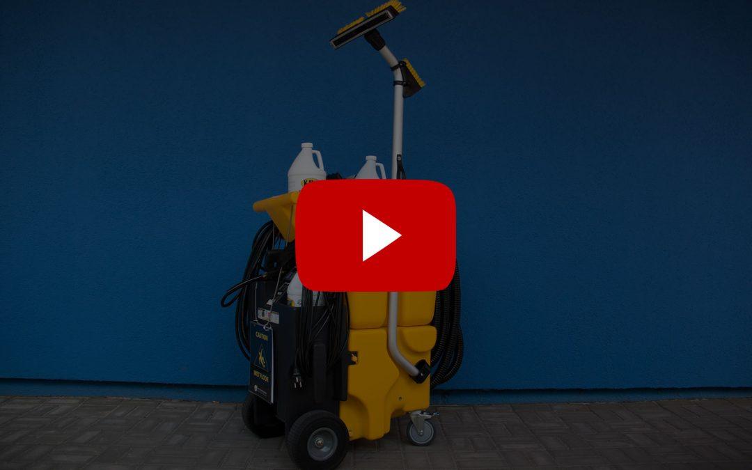Video návod: nastavení podlahového čisticího stroje KaiVac No-Touch Cleaning System řady 1700 a 1200