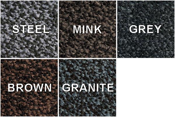 Barvy pracích rohoží