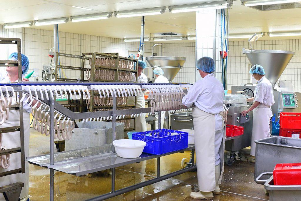 Úklid v potravinářství a průmyslové výrobě