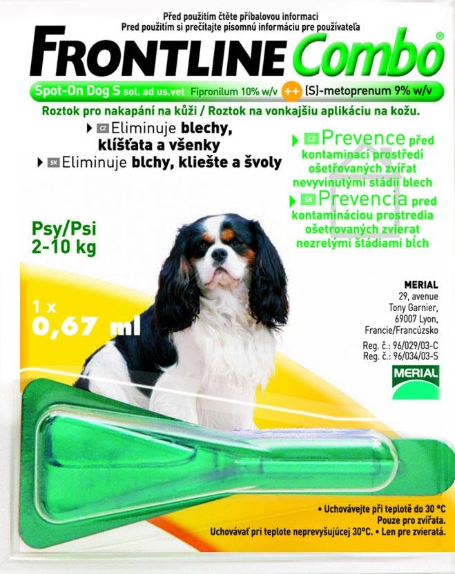 Frontline Combo na blechy