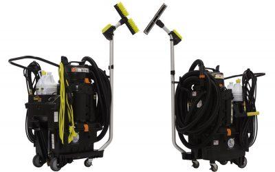 OmniFlex™ Spray and Vac – všestranný čisticí stroj nejen na toalety a sociální zařízení
