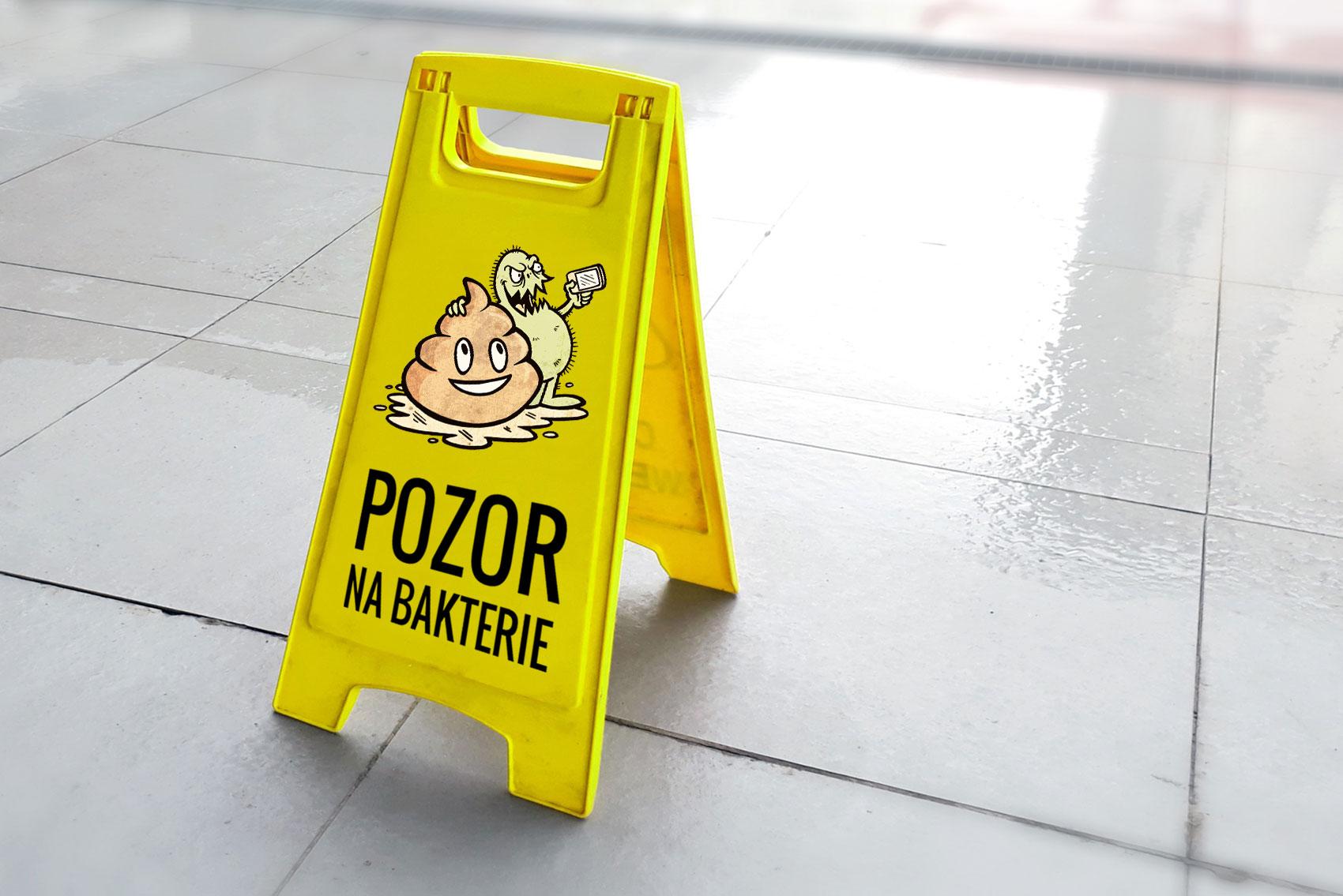 Mokrá podlaha nemusí být zaručeně čistá. Změřte si úroveň úklidu pomocí ATP testu