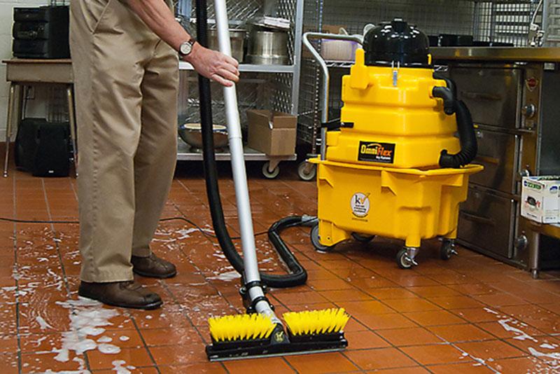 Úklidové stroje Kaivac na čištění podlah