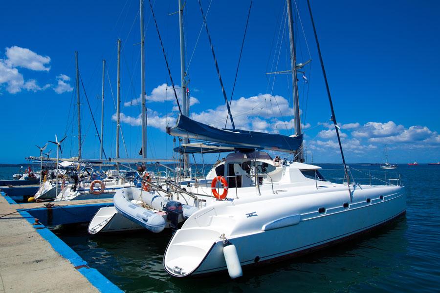 Ekologické čištění lodě, mytí lodě