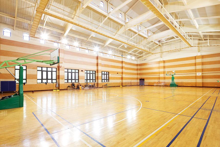 Čištění a údražba školní tělocvičny