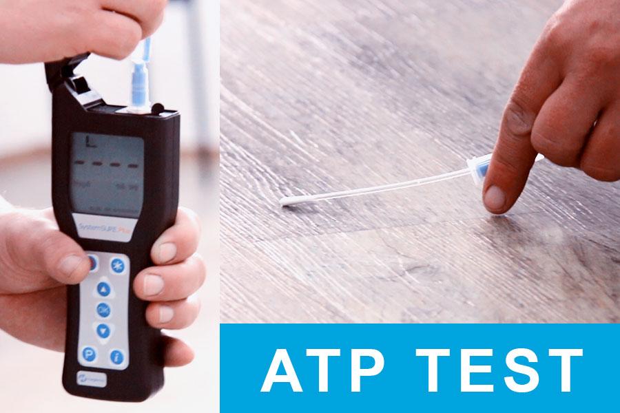 ATP test čistoty podlahy, úroveň hygieny