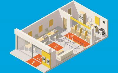 Jak snížit vnášení nečistot do budovy, když rohožka nestačí? Vytvořte si čisticí zóny