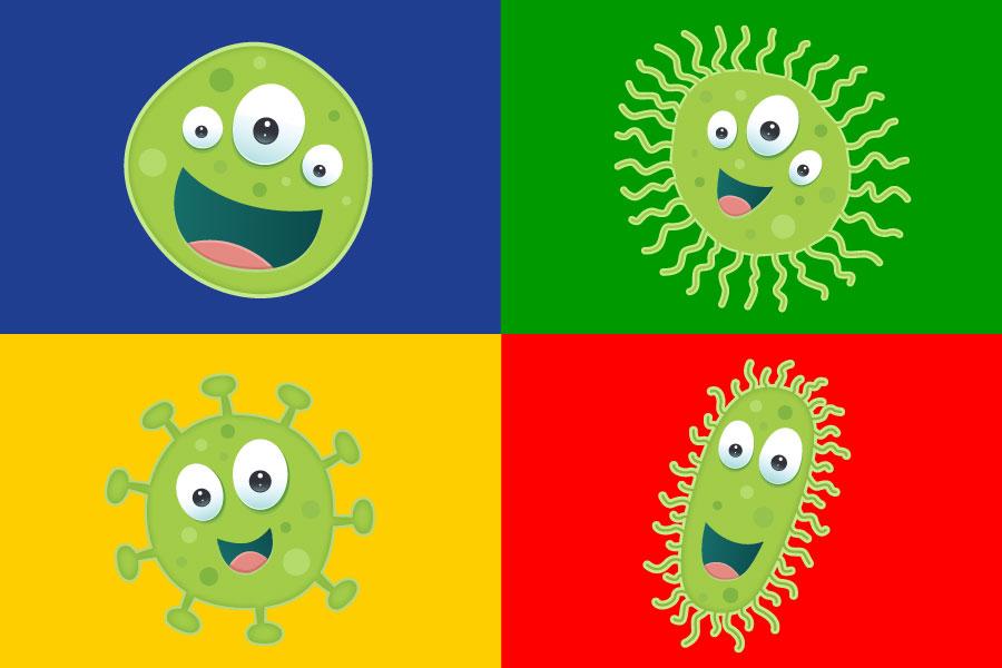 Systém barevného kódování při úklidu a kontrola infekce – část 2 (Řetězec infekcí)