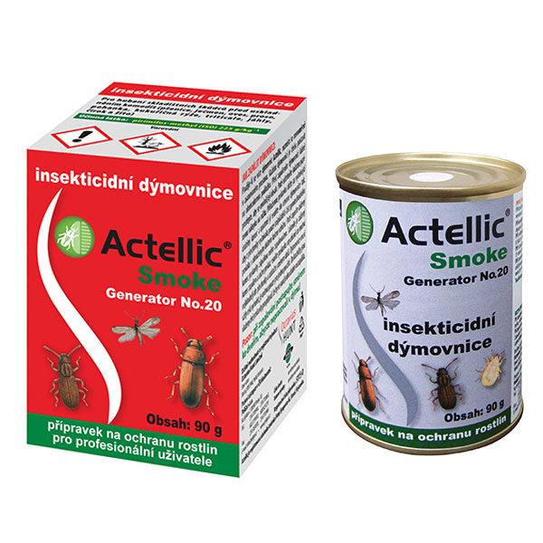 Actellic Smoke Generator No. 20 (insekticidní dýmovnice) proti skladištním škůdcům