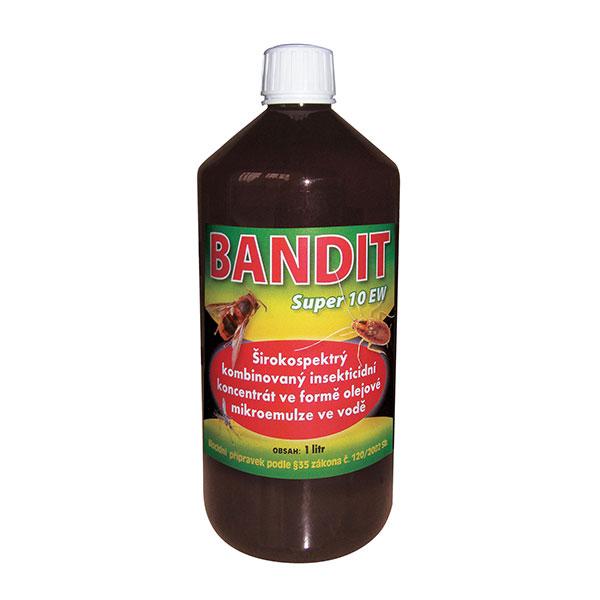 Bandit SUPER 10 EW (pyretroidní postřikový koncentát) na hubení hmyzu