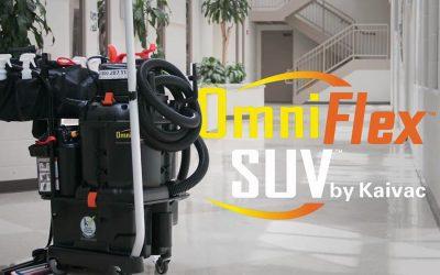 OmniFlex™ Crossover cleaning SUV – úklidový stroj na podlahy (bateriový all-in-one)
