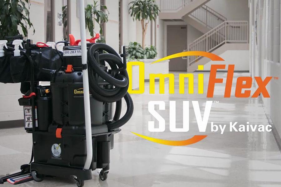 OmniFlex™ Crossover cleaning SUV - úklidový stroj na podlahy (bateriový all-in-one)