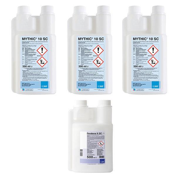 Mythic 10 SC + Fendona 6 SC PACK proti štěnicím, švábům a mravencům