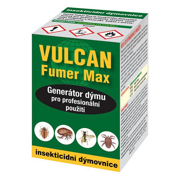 Vulcan FUMER (insekticidní dýmovnice) na octomilky, bzučivky a jiný hmyz