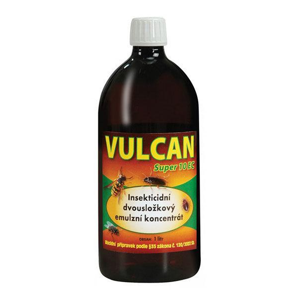 Vulcan SUPER 10 EC (pyretroidní emulzní koncentrát) na likvidaci hmyzu