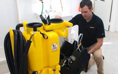Tipy, jak na údržbu čisticího stroje Kaivac No-Touch Cleaning