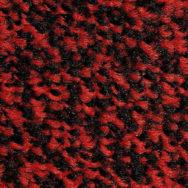 Prací rohož - Black scarlet (černo-šarlatová)
