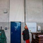 SpaceVac, vysávání stěn