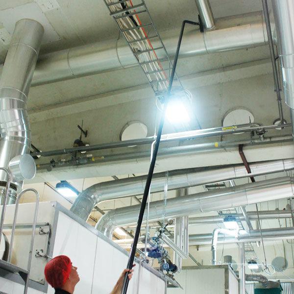 SpaceVac – čisticí systém pro úklid ve výškách