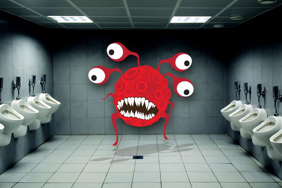 Jak se zbavit nepříjemného zápachu na veřejných toaletách