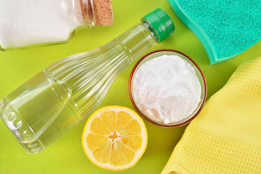 Alternativní ekologické čisticí prostředky - soda, sůl a voda