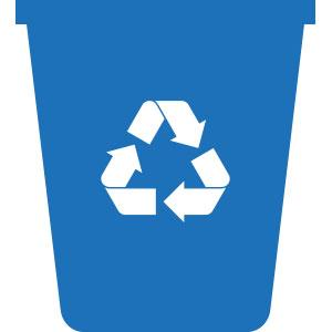 Kontejner na tříděný papírový odpad