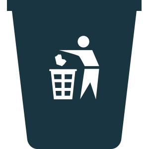 Kontejner na směsný odpad