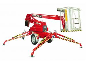 Výškové práce z plošiny / pronájem pracovní plošiny