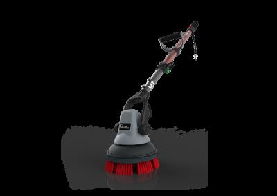 MotorScrubber M3 - Malý a vysoce výkonný kartáčovací stroj pro hloubkové čištění.