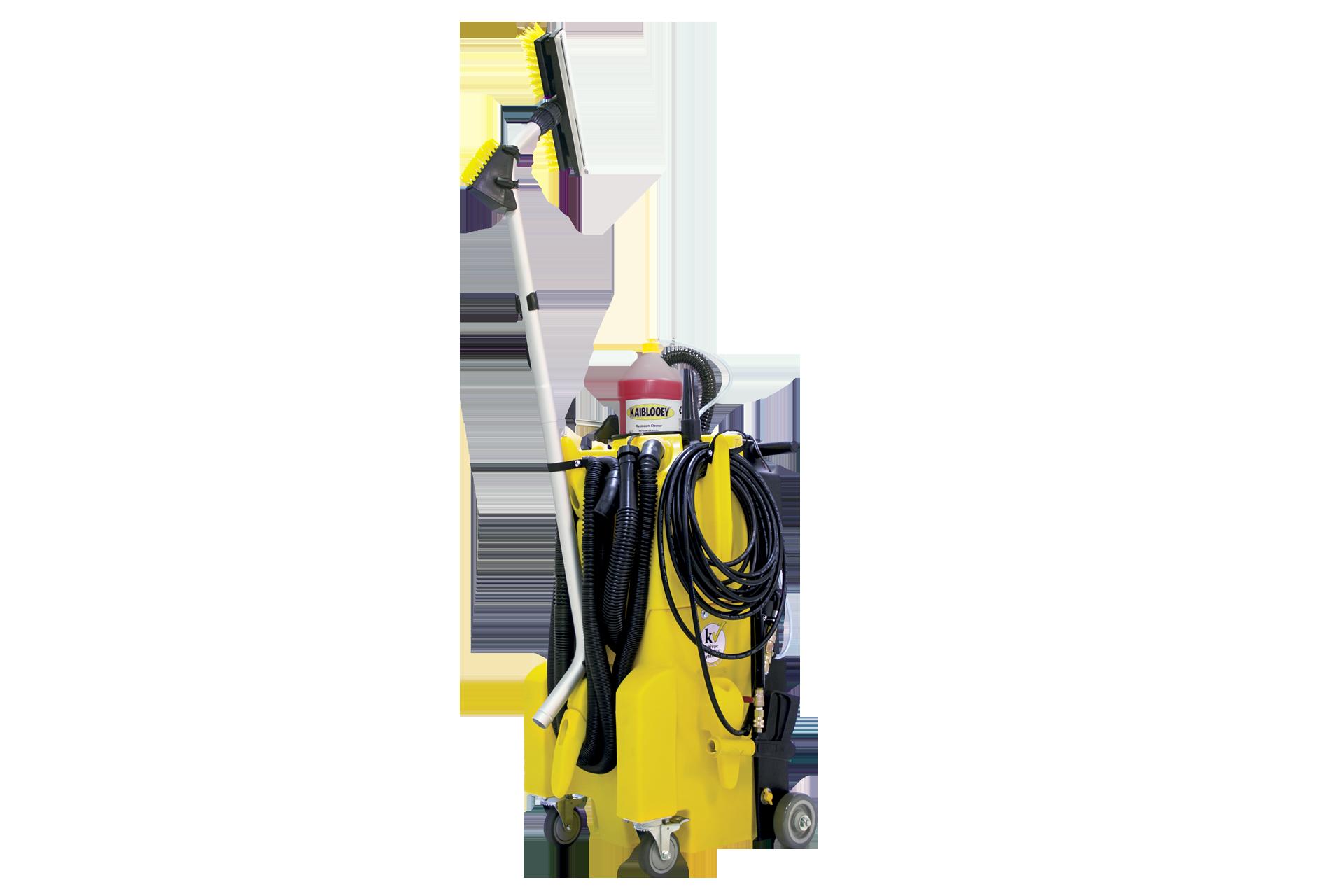 KaiVac® 1250 - Malý bezdotykový čisticí stroj na podlahy