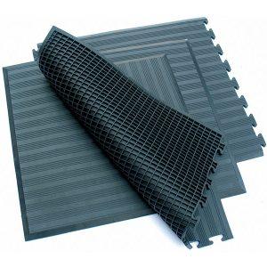 Airflex - průmyslová rohož s plnou strukturou a vzduchovými kapsami (ergonomická)