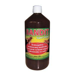 Bandit SUPER 10 EW (pyretroidní postřikový koncentrát) na hubení hmyzu