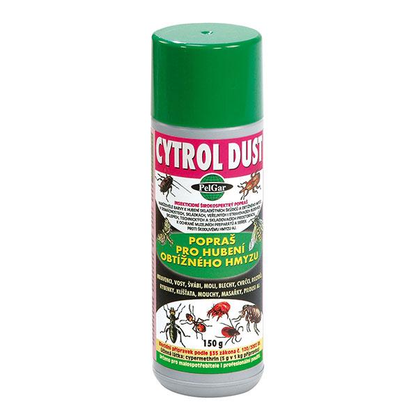 Cytrol Dust (insekticidní popraš) na hubení obtížného lezoucího i létajícího hmyzu