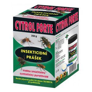 Cytrol Forte (pyretroidní práškový koncentrát) na hubení škodlivého hmyzu