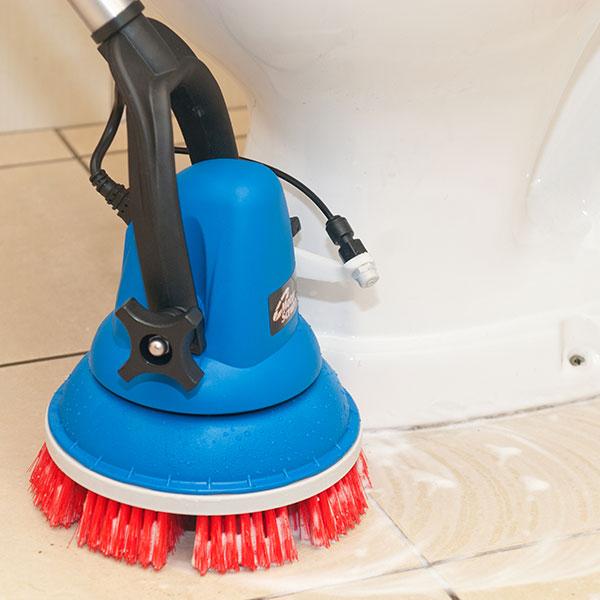 MotorScrubber - jednokotoučový mycí stroj - víceúčelový bateriový kartáč (lehký, vodotěsný, teleskopický)