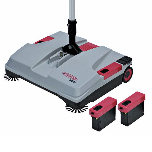Sprintus MEDUSA – bateriový zametač na čištění koberců a tvrdých podlah