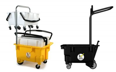 Jak vybrat správný úklidový vozík. 8 kritérií, podle kterých vybírat
