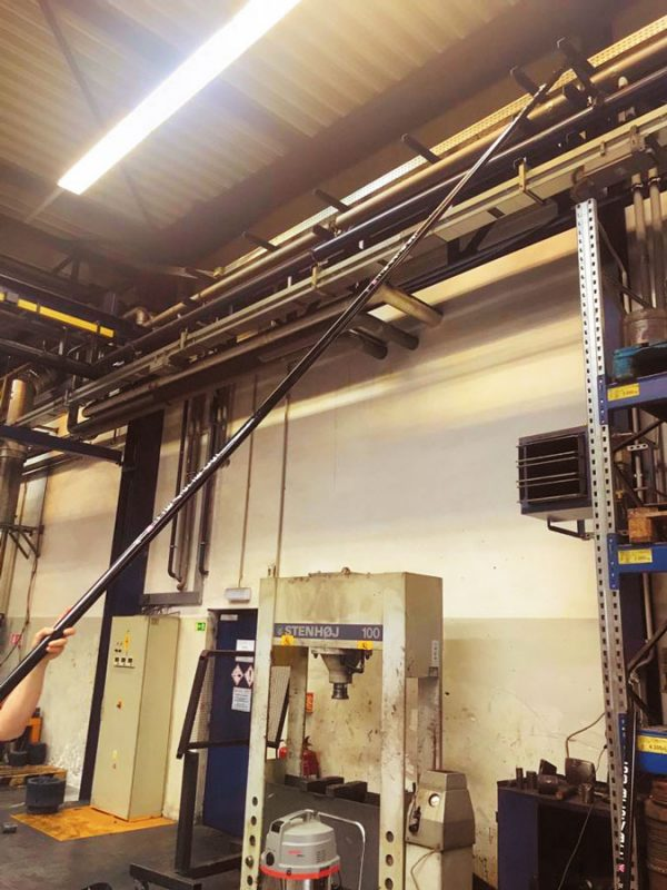 SpaceVac - čisticí systém pro úklid ve výškách