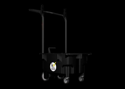 Microfiber Trolley System - Úklidový vozík pro mikrovlákenný systém čištění